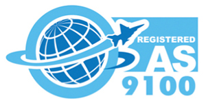 Registered AS 9100 Logo