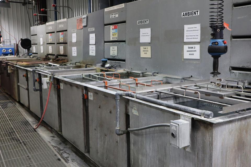 chem film dipping station