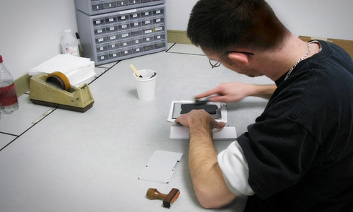 employee silk screening