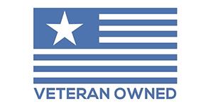 Veteran Owned flag logo
